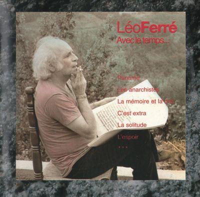 Paroles de Léo Ferré : La Solitude - paroles de chanson