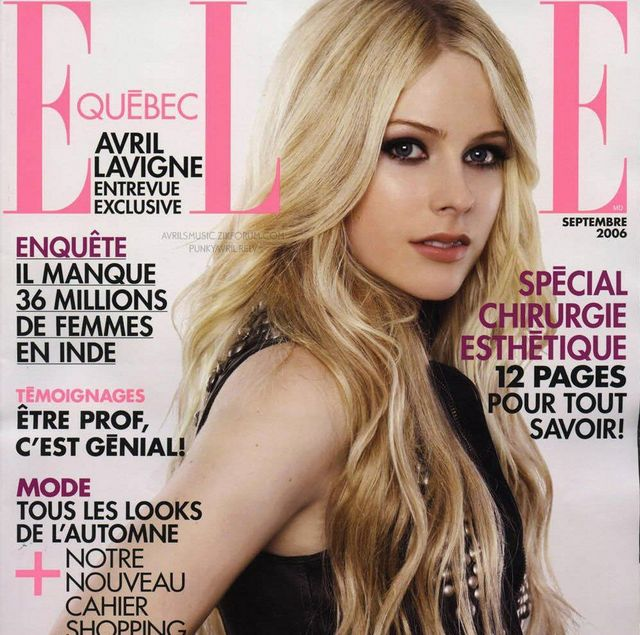 🐞 Paroles Avril Lavigne : paroles de chansons, traductions