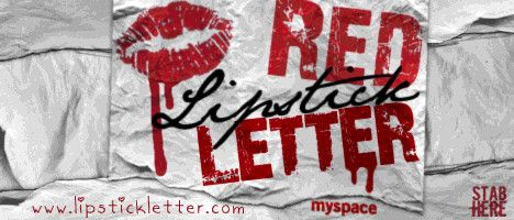 Red Lipstick Letter