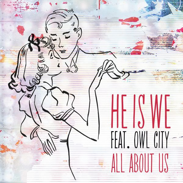 All About Us Single