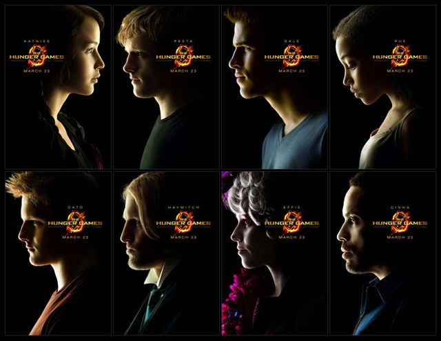 "La distribution principale de ""The Hunger Games"""